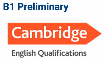 B1 Preliminary Cambridge