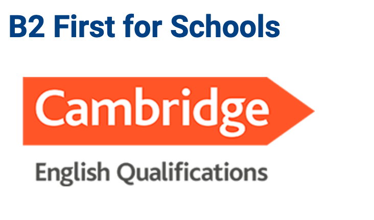 B2 First for Schools