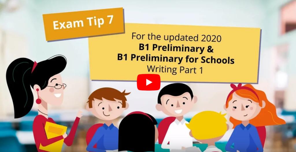 B1 Preliminary for schools
