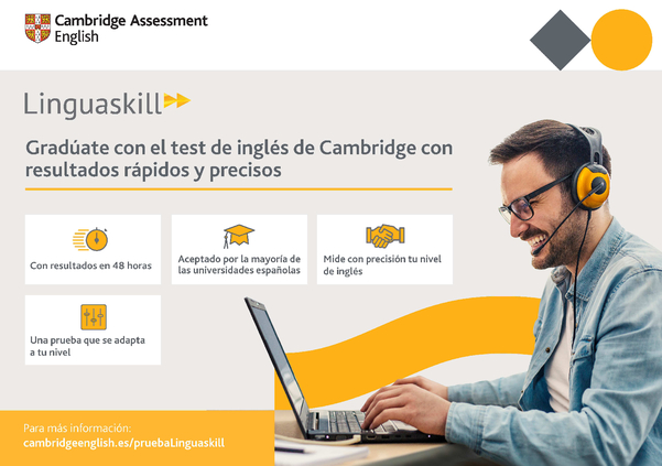 Linguaskill Cambridge resultados en 48 horas